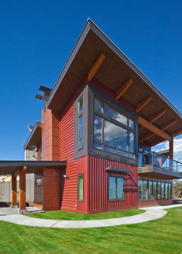 Park City, Utah LEED Platinum Home, Built with SIPS