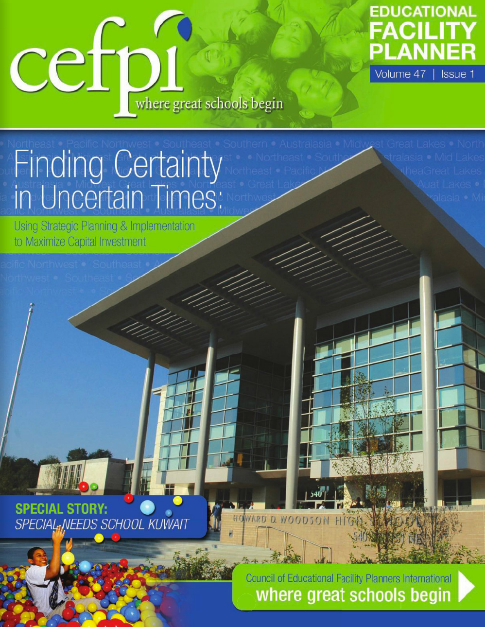Education Facility Planner Magazine