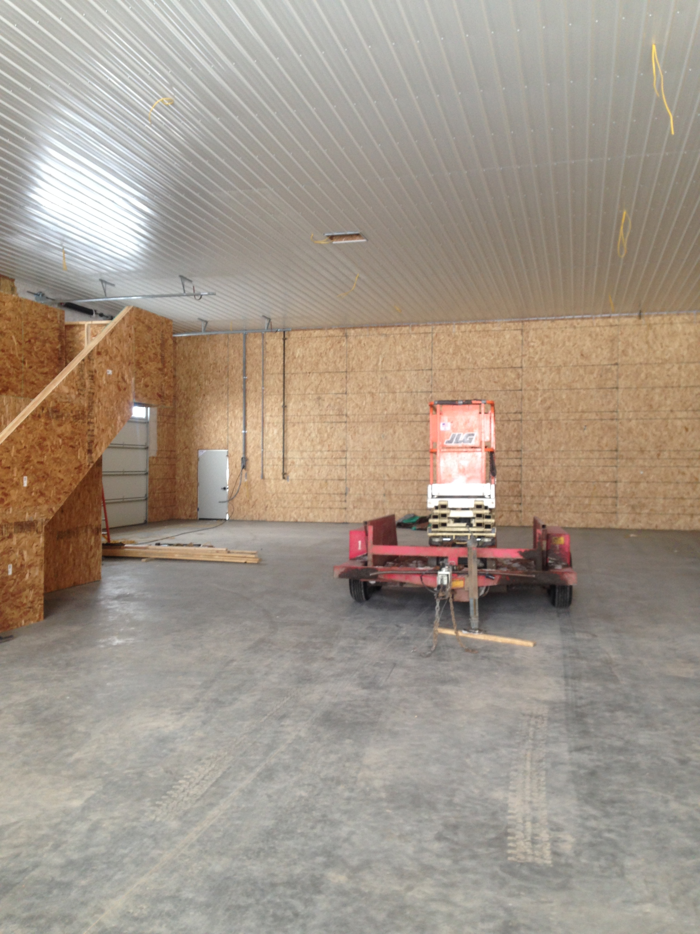 Structural Insulated Shop Structure