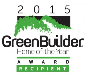 2015 Green Builder Mag Award