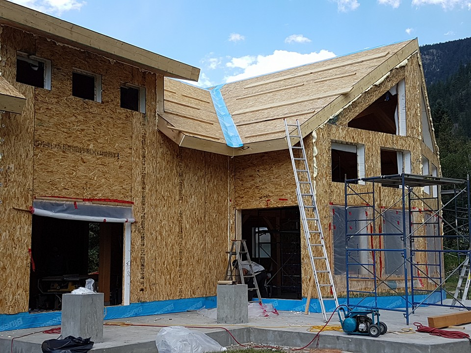 Project details and photos provided by WEST-ECO Panels, Canada