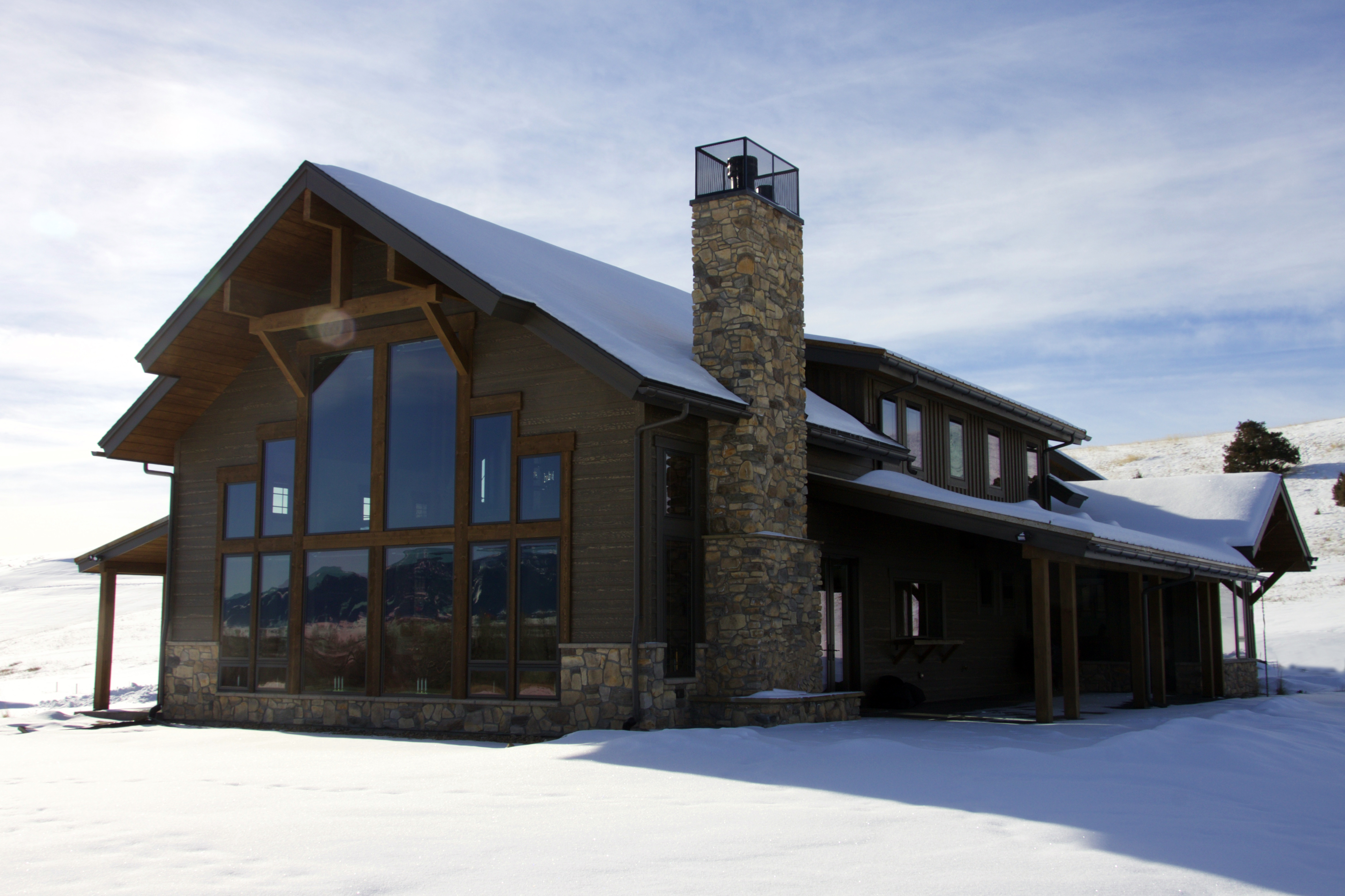 Project Feature:  Custom Montana Residence