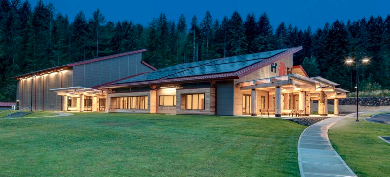 Net Zero Community Center Sports Enormous West Coast Solar System